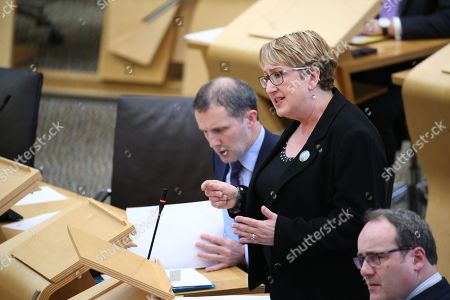 Offensive Behaviour at Football and Threatening Communications (Repeal) (Scotland) Bill - Michael Matheson, Cabinet Secretary for Justice, Annabelle Ewing, Minister for Community Safety and Legal Affairs, and Paul Wheelhouse, Minister for Business, Innovation and Energy