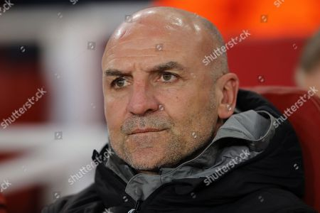 Steve Bould, Assistant Manager of Arsenal - Arsenal v AC Milan, Europa League, Round of 16 - Second Leg, Emirates Stadium, London - 15th March 2018.