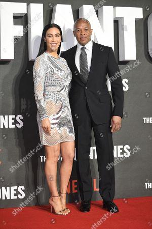Dr Dre and Nicole Threatt