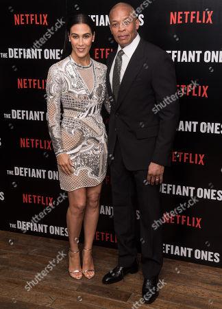 Nicole Threatt and Dr Dre