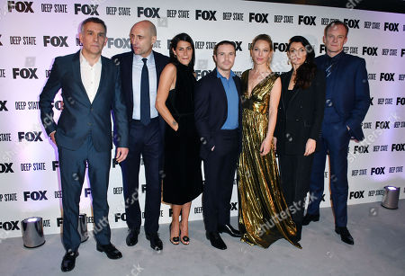 Editorial picture of 'Deep State' TV show premiere, London, UK - 15 Mar 2018