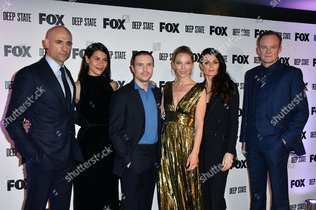 Stock Photo of Mark Strong, Karima McAdams, Joe Dempsie, Anastasia Griffith, Lyne Renee, Alistair Petrie