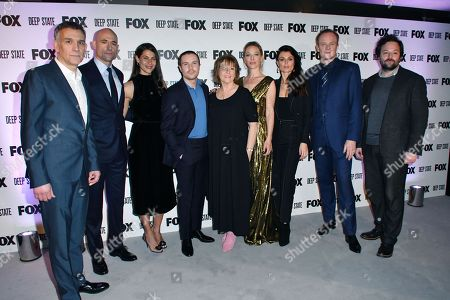 Stock Picture of Matthew Parkhill, Mark Strong, Karima McAdams, Joe Dempsie, Hilary Bevan-Jones, Anastasia Griffith, Lyne Renee, Alistair Petrie, Tom Nash