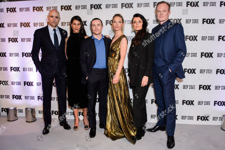 Mark Strong, Karima McAdams, Joe Dempsie, Anastasia Griffith, Lyne Renee and Alistair Petrie