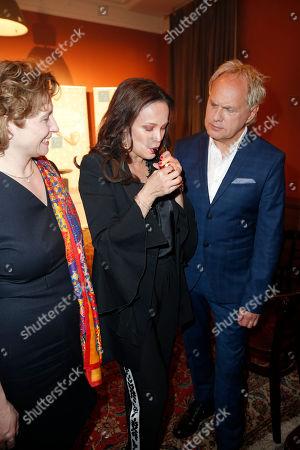 Nicola Beer, Sonja Kirchberger, Uwe Ochsenknecht