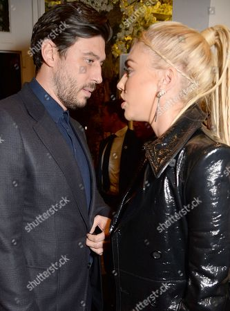 Sam Palmer and Petra Stunt