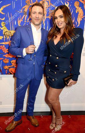 Dan Baldwin and Tamara Ecclestone Rutland