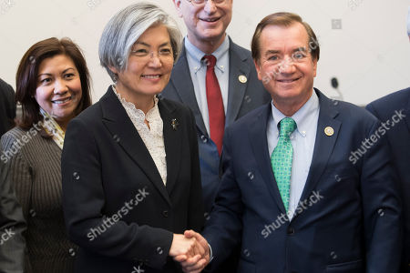 Editorial image of Foreign Minister of South Korea Kang Kyung-Wha, Washington, USA - 15 Mar 2018