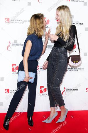 Stock Photo of Ella Endlich and Carolin Niemczyk
