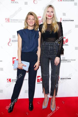 Stock Image of Ella Endlich and Carolin Niemczyk