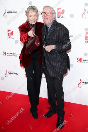 Klaus Doldinger mit Ehefrau Inge