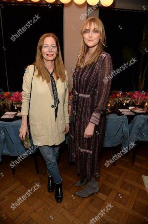 Lucie de la Falaise and Sophie Dahl