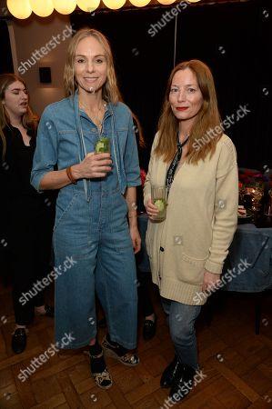 Cathy Kisterine and Lucie de la Falaise