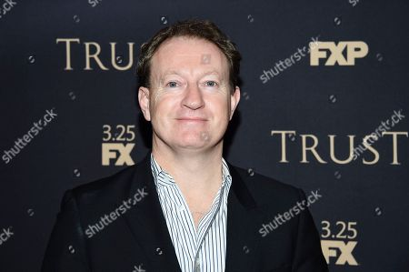 Writer and executive producer Simon Beaufoy attends FX Networks' annual all-star party at SVA Theatre, in New York