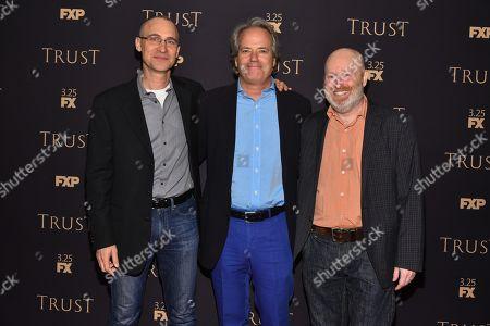 Stock Picture of Joel Fields, Graham Yost, Joe Wisberg