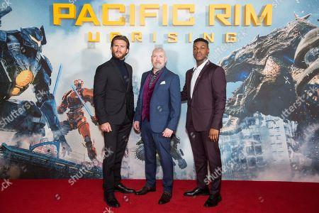Scott Eastwood, John Boyega and director Steven S. DeKnight