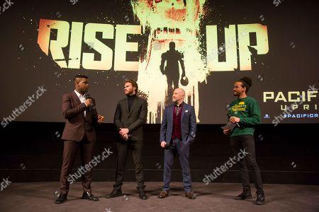 Scott Eastwood, John Boyega and Steven S. DeKnight