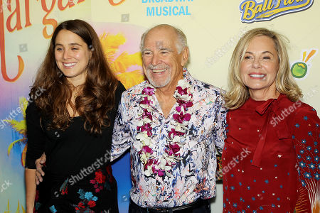 Stock Picture of Delaney Buffett, Jimmy Buffett, Jane Buffett