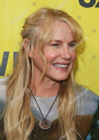 """Director Daryl Hannah arrives for the world premiere of her film """"Paradox"""" during the South by Southwest Film Festival at the Paramount Theatre, in Austin, Texas"""