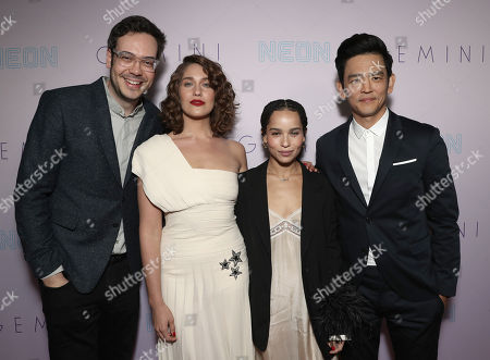 Nelson Franklin, Lola Kirke, Zoe Kravitz and John Cho
