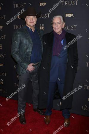 Brendan Fraser and Donald Sutherland