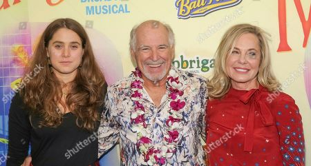 Delaney Buffett, Jimmy Buffett, Jane Buffett.