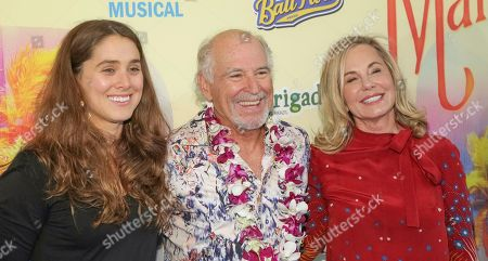 Stock Photo of Delaney Buffett, Jimmy Buffett, Jane Buffett.