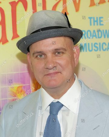 """Stock Picture of Playwright Mike O' Malley attends the Broadway opening night of """"Escape to Margaritaville"""" at the Marquis Theatre, in New York"""