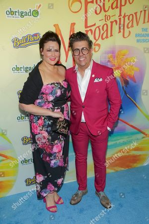 """Editorial picture of """"Escape to Margaritaville"""" Broadway Opening Night, New York, USA - 15 Mar 2018"""