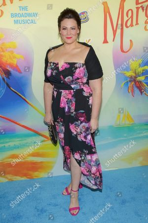 """Stock Image of Actress Lisa Howard attends the after party following the Broadway opening night of """"Escape to Margaritaville"""" at Pier Sixty at Chelsea Piers, in New York"""