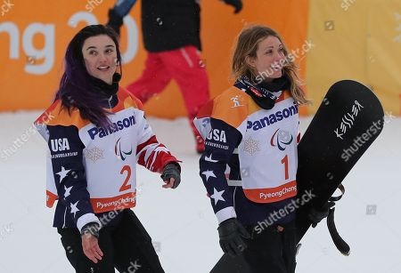 Brenna Huckaby and Amy Purdy