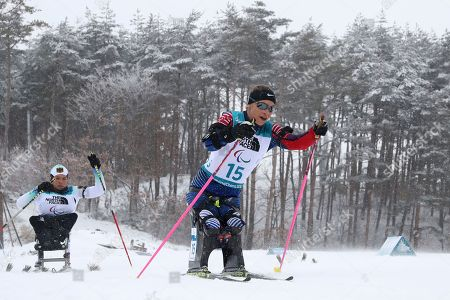 Editorial photo of Paralympics Biathlon, Pyeongchang, South Korea - 16 Mar 2018