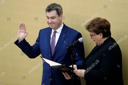 Editorial photo of Politics, Munich, Germany - 16 Mar 2018