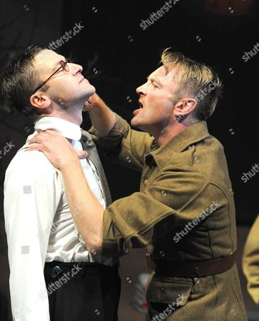 'Observe the Sons of Ulster Marching Towards the Somme'  - Billy Carter (Christopher) and Richard Dormer (Pyper)