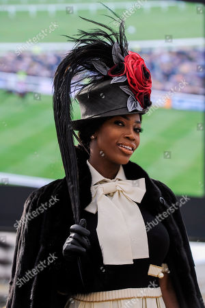 Stock Photo of Lystra Adams arrives in the grounds