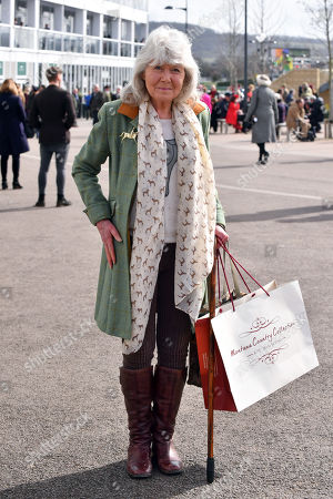 Jilly Cooper arrives in the grounds