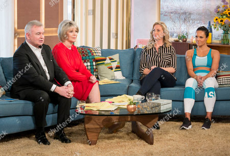 Eamonn Holmes and Ruth Langsford with Josie Gibson and Jenny Pacey