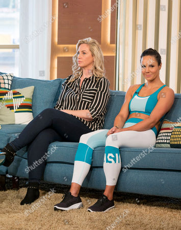 Josie Gibson and Jenny Pacey