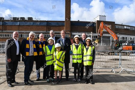 Editorial picture of AFC Wimbledon., Demolition Event - 16 Mar 2018
