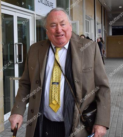Anthony Oppenheimer spotted at the Cheltenham Festival Gold Cup Day