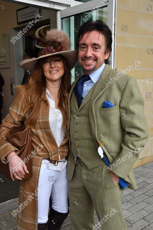 Mindy Hammond and Richard Hammond spotted at the Cheltenham Festival Gold Cup Day