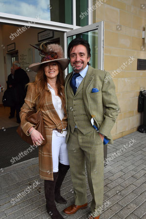 Stock Picture of Mindy Hammond and Richard Hammond spotted at the Cheltenham Festival Gold Cup Day