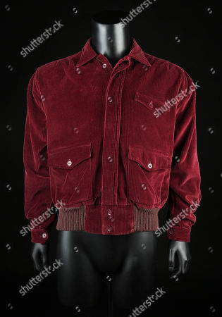 Jack Torrance's (Jack Nicholson) jacket from Stanley Kubrick's horror film The Shining. Torrance wore his jacket throughout much of the film, as he slowly descended into madness during the long winter spent with his family at the Overlook Hotel.