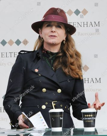 Alice Plunkett - former eventer and National Hunt jockey and current presenter on ITV Racing