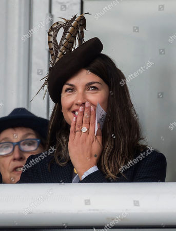 Amelia Warner watch the racing