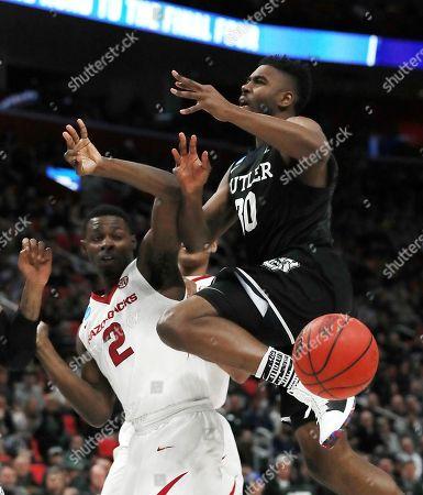 Editorial photo of NCAA Butler Arkansas Basketball, Detroit, USA - 16 Mar 2018