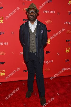 Editorial picture of 'The American's' TV show premiere, Arrivals, New York, USA - 16 Mar 2018