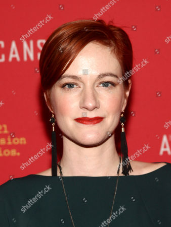 "Suzy Jane Hunt attends the premiere of FX Networks' ""The Americans"" final season at Alice Tully Hall, in New York"