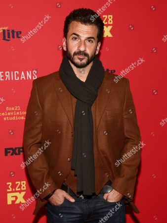 """Michael Aronov attends the premiere of FX Networks' """"The Americans"""" final season at Alice Tully Hall, in New York"""