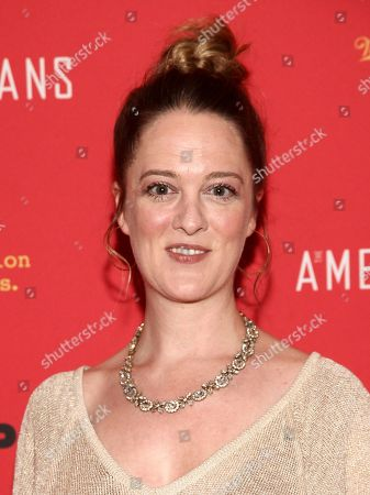 """Polly Lee attends the premiere of FX Networks' """"The Americans"""" final season at Alice Tully Hall, in New York"""